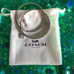 Coach Silver Bracelets /new
